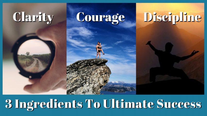Clarity Courage Discipline Chris Dorris
