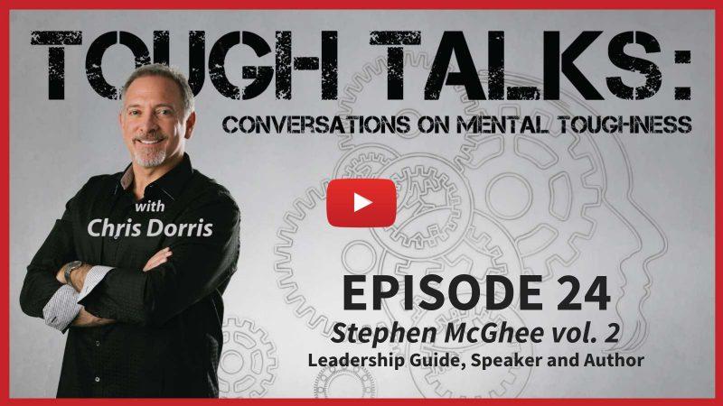 Tough talks With Chris Dorris Stephen McGhee volume 2